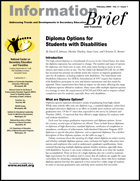 Diploma Options for Students with Disabilities