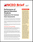 Performance of Special Education Students: Implications for Common State Assessments (#5)