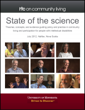 State of the Science: Theories, Concepts, and Evidence Guiding Policy and Practice in Community Living and Participation for People with Intellectual Disabilities