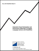 Graduation Exam Participation (2000-2001) of English Language Learners with Disabilities (#3)