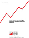 Almost There in Public Reporting of Assessment Results for Students with Disabilities (#39)