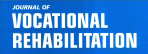Portion of the cover of the Journal of Vocational Rehabilitation.