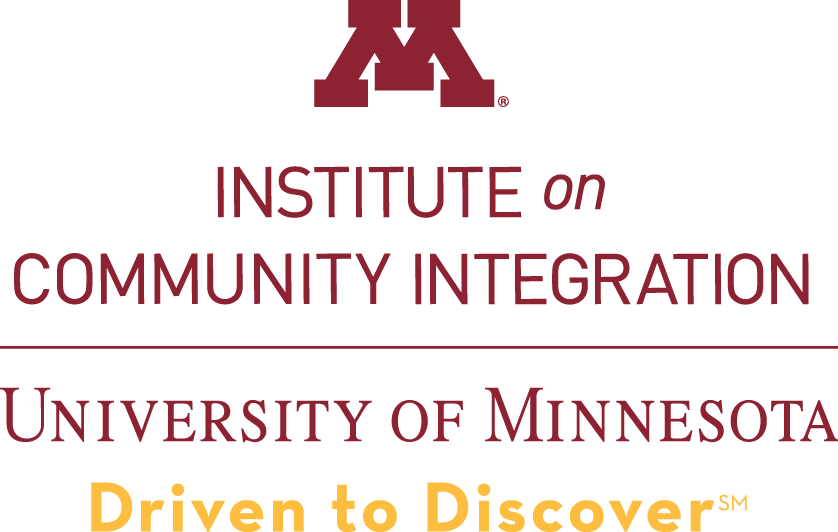 Logo of ICI within the University of Minnesota wordmark.