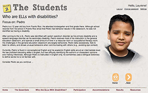 A slide from Learning Modules on English Learners (ELs) with Disabilities