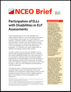 Participation of ELLs with Disabilities in ELP Assessments (#8)