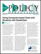 Using Computer-based Tests with Students with Disabilities (#15)