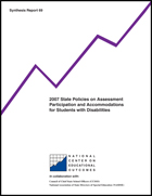 2007 State Policies on Assessment Participation and Accommodations for Students with Disabilities (#69)