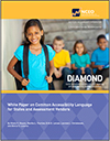 White Paper on Common Accessibility Language for States and Assessment Vendors