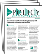NCEO Policy Directions