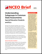 Understanding Subgroups in Common State Assessments: Special Education Students and ELLs (#4)