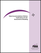 State Accommodations Policies: Implications for the Assessment of Reading