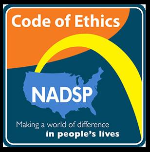 code of ethics e-badge graphic
