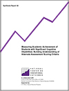Measuring Academic Achievement of Students with Significant Cognitive Disabilities: Building Understanding of Alternate Assessment Scoring Criteria (#50)