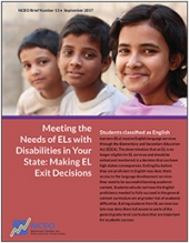 Meeting the Needs of ELs with Disabilities in Your State: Making EL Exit Decisions (#13)