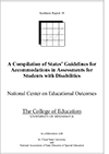 A Compilation of States' Guidelines for Accommodations in Assessments for Students with Disabilities (#18)