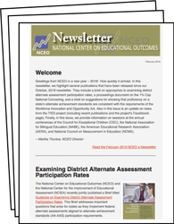 NCEO Newsletter