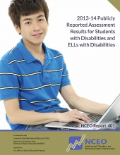 2013-14 Publicly Reported Assessment Results for Students with Disabilities and ELLs with Disabilities (#401)
