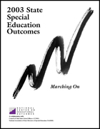 2003 State Special Education Outcomes - Marching On