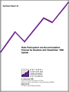 State Participation and Accommodation Policies for Students with Disabilities: 1999 Update (#33)