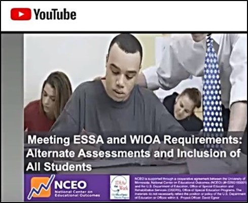 Webinar on meeting ESSA and WIOA requirements